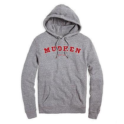 MudHen heritage hoodie - grey