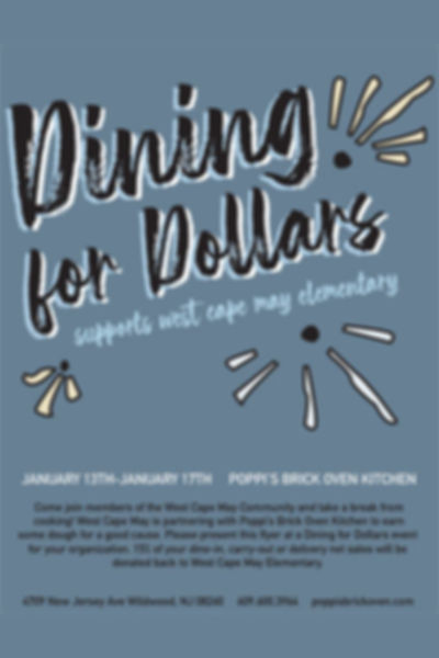 Dining for Dollars - West Cape May Elementary
