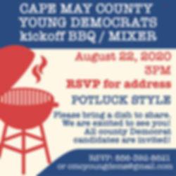 Cape May County Young Democrats kickoff BBQ / mixer