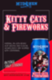 KITTY CATS & FIREWORKS