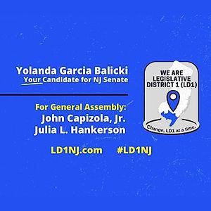 Yolanda Garcia Balicki, John Capizola, Jr. Julia L. Hankerson