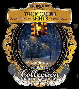 Bourbon Barrel Aged Yellow Flashing Lights