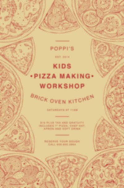 Kids Pizza Making Workshop