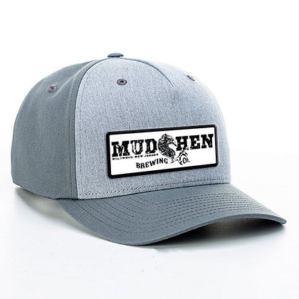 MudHen trucker - heather grey