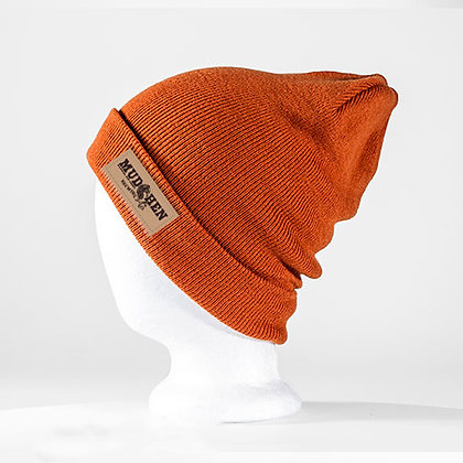 MudHen beanie - burnt orange