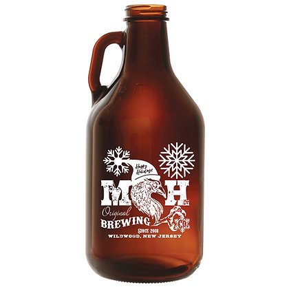 Growler Bottle + 1 TICKET to Fill with ANY BEER!