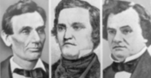 Stephen Douglas, John C. Breckenridge