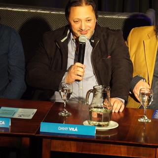 Dany Vilá / Conferencia de Prensa