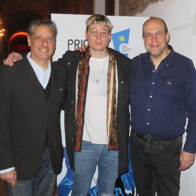 Emanero, Alberto Pieragostini y Willy Poch