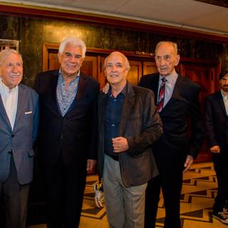 La Gala / Horación Malvicino de AADI, Raúl Lavié, Horacio Cabarcos y Enry Balestro de AADI
