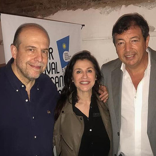Roxana Fontán, Francisco Pavón y Willy Poch