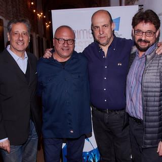 Ramón Gallo, Henoch Aguiar, Alberto Pieragostini y Henoch Aguiar