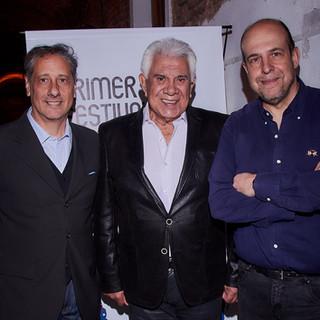 Raúl Lavié, Alberto Pieragostini y Willy Poch