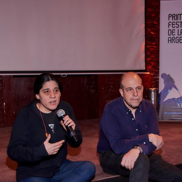 Araceli Matus, presidenta de la Fundación Mercedes Sosa y Willy Poch