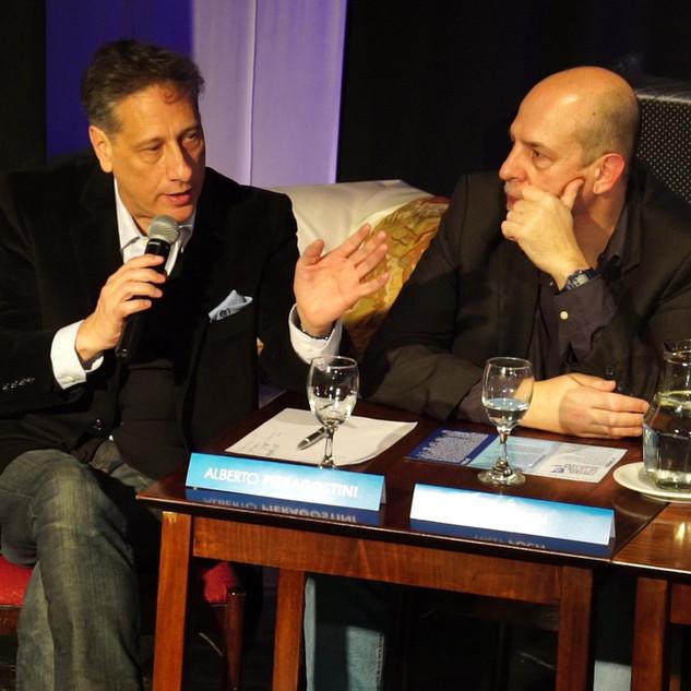 Alberto Pieragostini / Conferencia de Prensa
