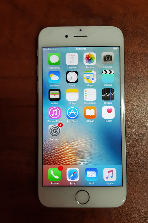 iPhone 6 16 GB Silver Bell-Virgin (used)