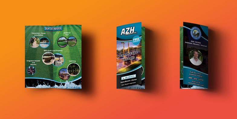 AZH Brochure Mockup