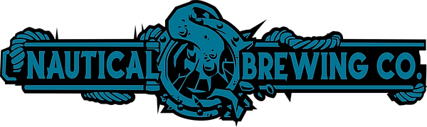 Nautical Brewing Logo Blue with Black st