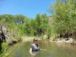 deb pool in creek.jpg