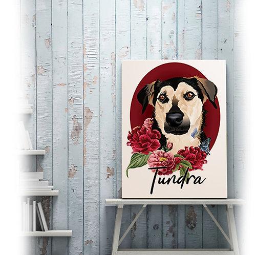 Ilustración de mascotas para personalizar algún producto del catalogo