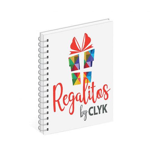 Cuaderno de 60 hojas tamaño A4, 22 x 28 cm con tapas PERSONALIZADAS