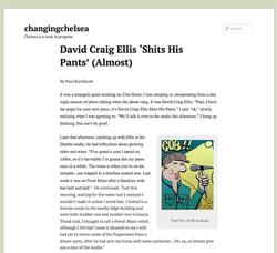 Changing Chelsea - David Craig Ellis Shits His Pants