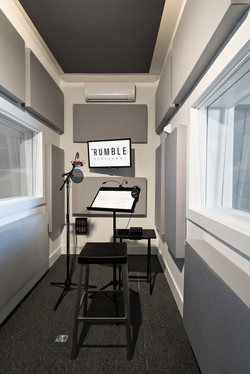 Rumble Audio Isolation Room