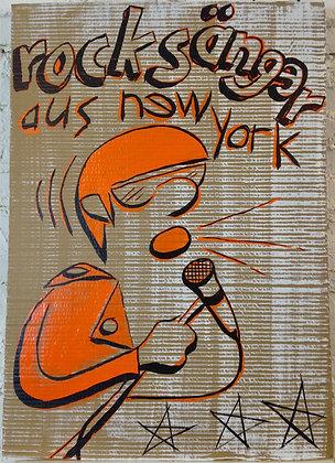Rock Sanger Aus New York