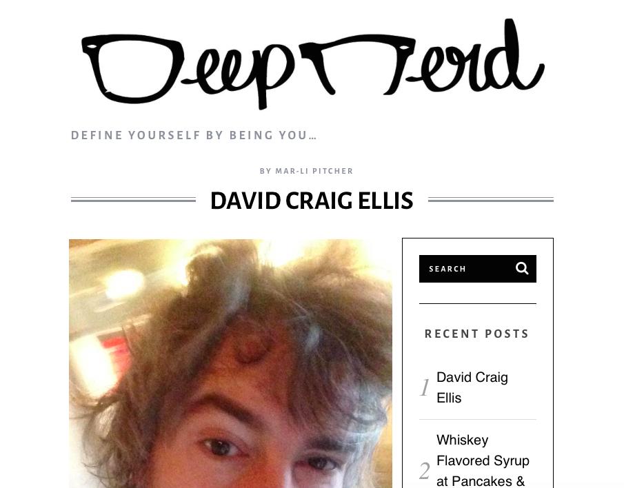 Deep Nerd - David Craig Ellis