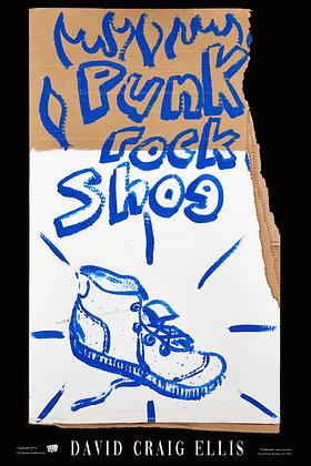 Poster - Punk Rock Shoe