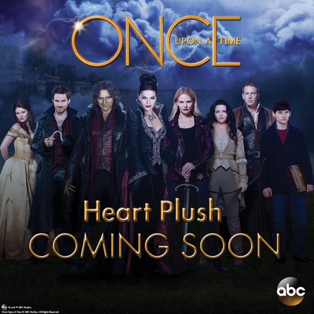 Once Upon a Time Heart Plush