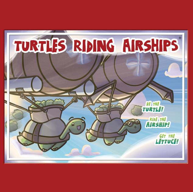 Turtles Riding Airships