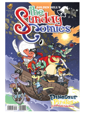 The Sunday Comics Issue 3 Dino Pirates