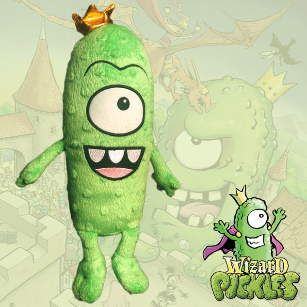 Wizard Pickles King Pickle