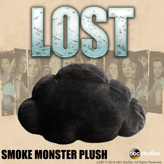 LOST Smoke Monster Plush