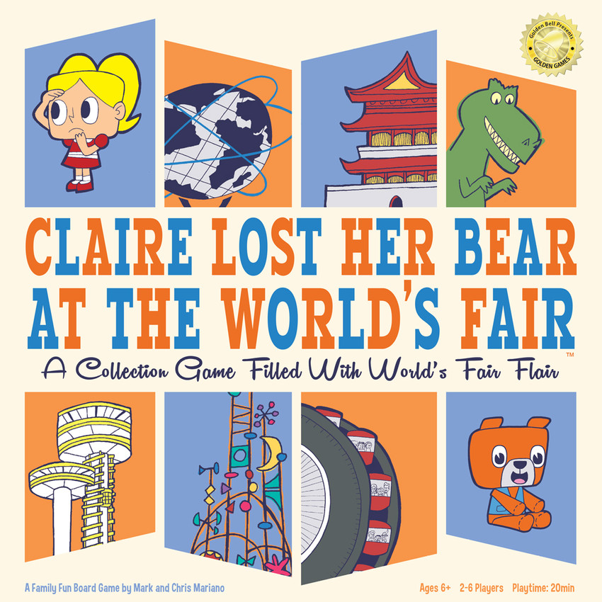 Claire Lost Her Bear At The World's Fair