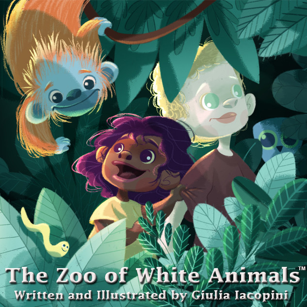 The Zoo of White Animals