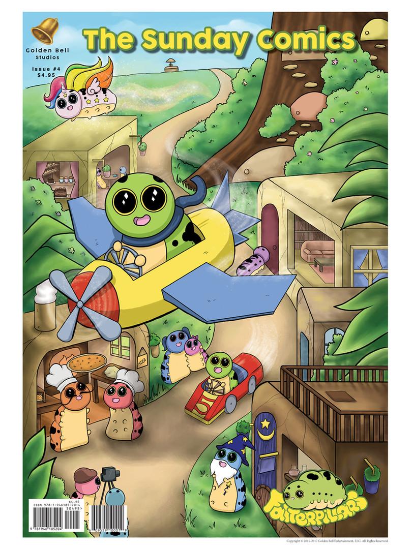 The Sunday Comics Issue 4 Fatterpillars