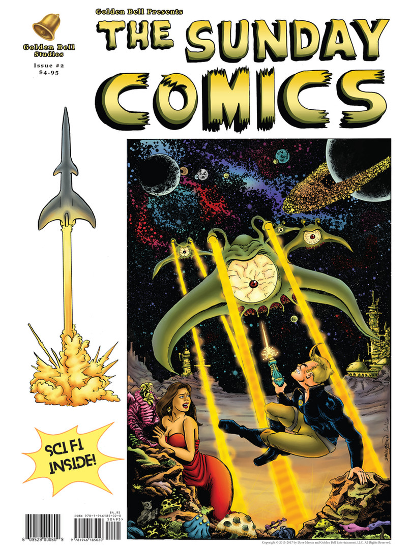 The Sunday Comics Issue 2 Rip Rocket