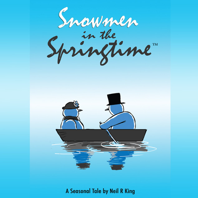 Snowmen in Springtime