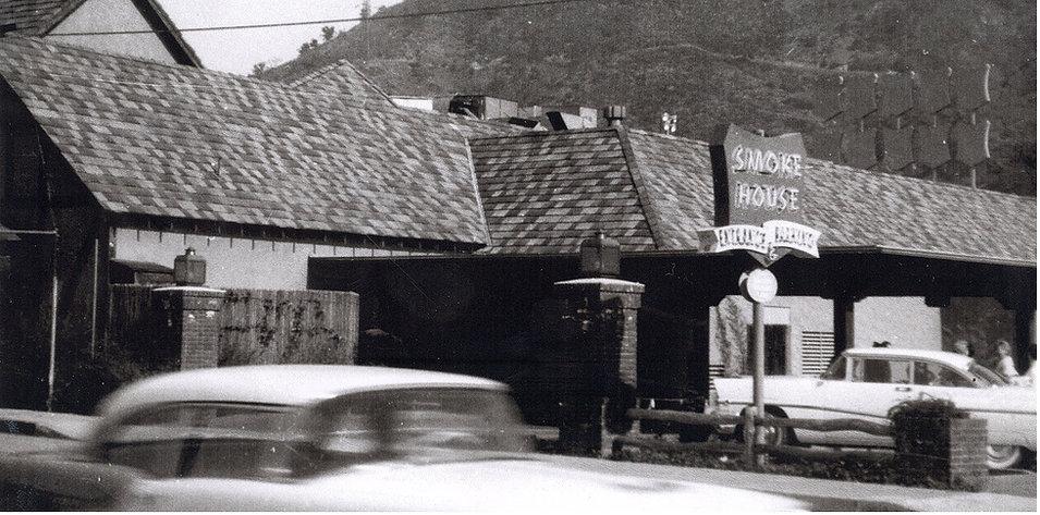 Smoke House Porte Cochere c. 1955.jpeg