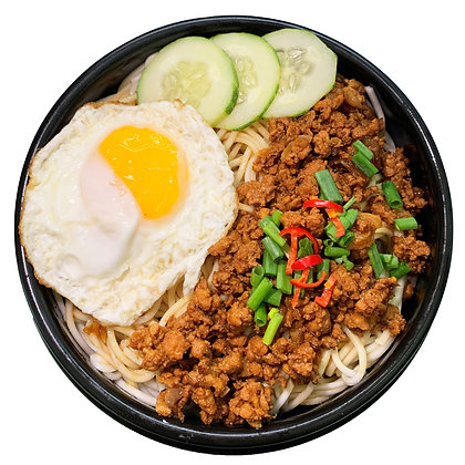 Braised Minced Meat Noodles (Dry)