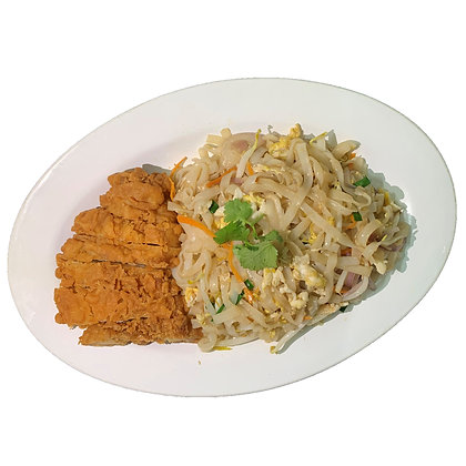 Chicken Cutlet Kway Teow