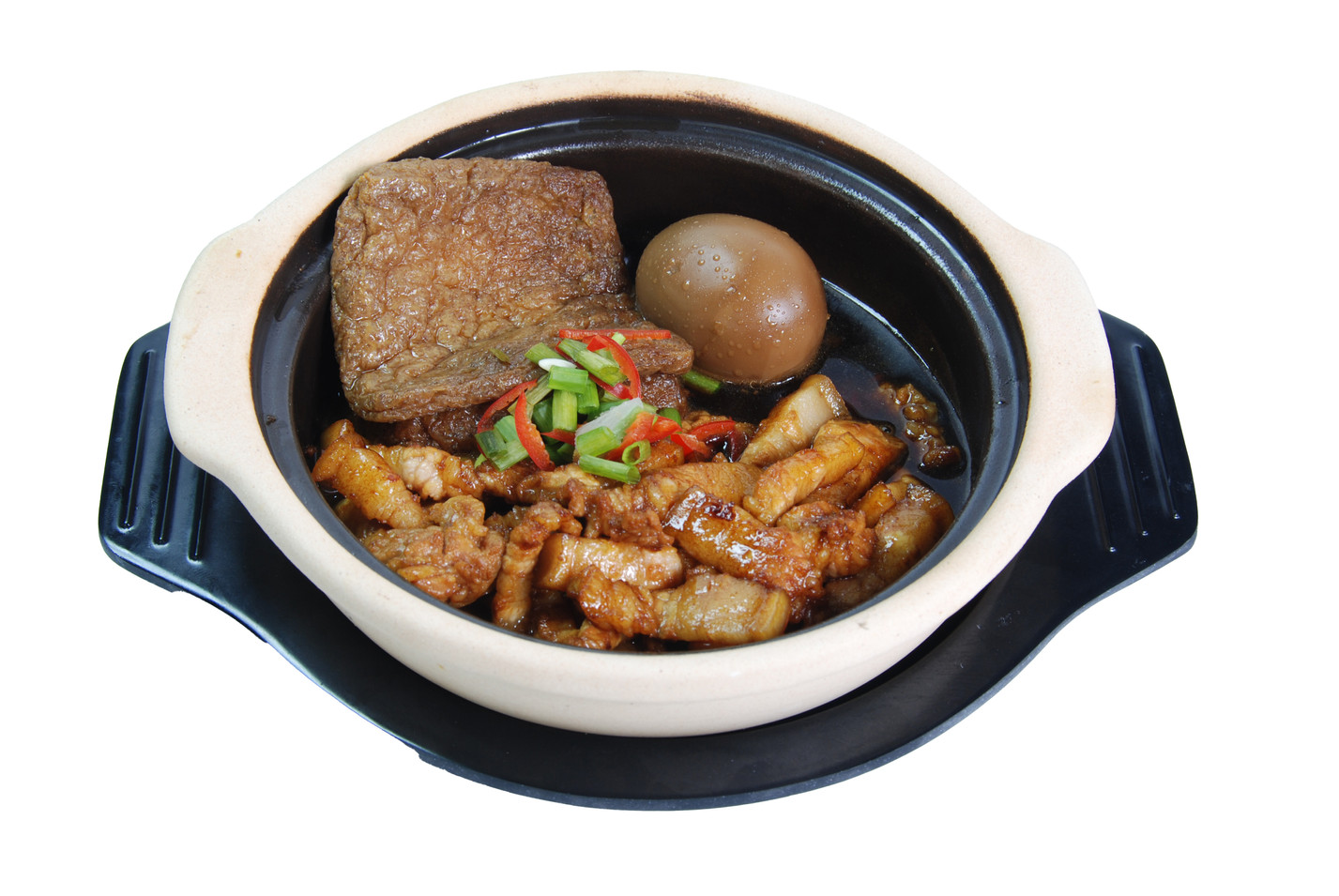 Claypot Three Braised Rice 砂煲三味饭