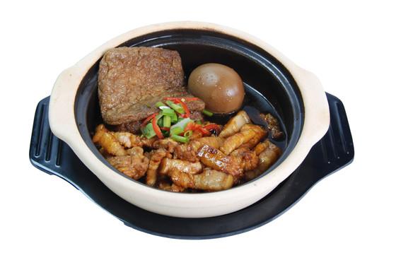 Claypot Three Braised Rice 砂煲三味饭