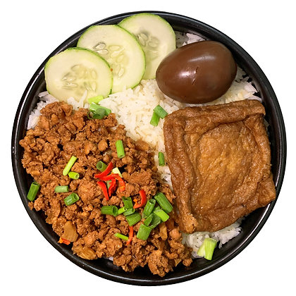 Braised Minced Meat Rice