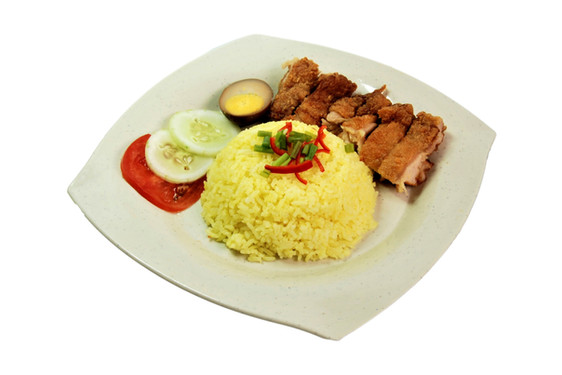 Chicken Cutlet Rice 鸡排饭