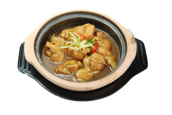 Claypot Sesame Oil Rice 砂煲麻油鸡饭