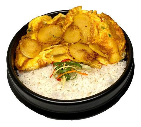 Potato Omelette Rice