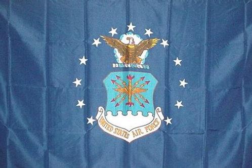 Air Force USAF Logo 3′ x 5′ Flag